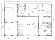 My House, Beautiful Homes, Sweet Home, New Homes, Floor Plans, Layout, Flooring, How To Plan, Architecture