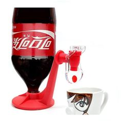 Creative fizz saver coke cola drinks the water dispenser quoted the device faucet