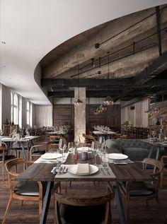 Restaurante Mercato. #Construir es el ARTE de CReAR Infraestructura... #CReOConstrucciones y #Remodelaciones.