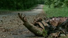 """Shot from The Walking Dead - Season 4, Episode 5: """"Internment"""". Click the picture to read the HorrorTalk.com episode recap by Steve and TGM (contains spoilers!)."""