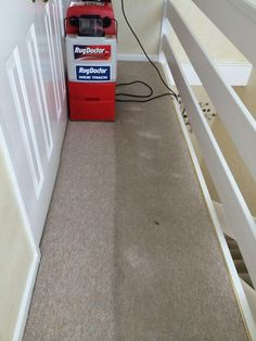 Results Speak For Themselves! Rug DoctorCleaningCarpet