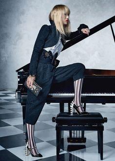 Sora Choi for Dolce & Gabbana SS17 Music collection
