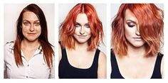 makeup makeover metamorphosis before after