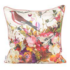 Heal's Alexandra Floral Cushion by Kristjana S Williams