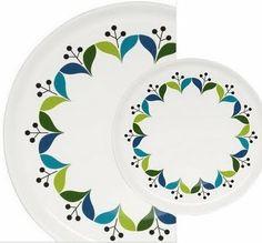 Sagaform plates on print & pattern