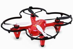 Holy Stone HS170C Predator 2 Mini RC Quadcopter Drone with HD Camera 2.4Ghz 4 CH 6 Axis Gyro Helicopter,Color Red - http://dronescenter.net/holy-stone-hs170c-predator-2-mini-rc-quadcopter-drone-hd-camera-2-4ghz-4-ch-6-axis-gyro-helicoptercolor-red/
