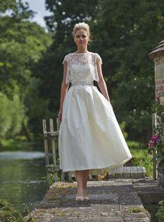 Gorgeous Tea Length Wedding Dresses Tea Length Wedding Dress