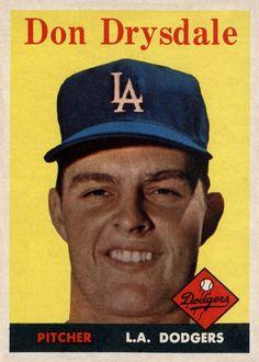 1958 Topps Don Drysdale