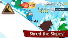 Top iPhone Game #68: Ski Safari: Adventure Time - Cartoon Network by Cartoon Network - 05/08/2014