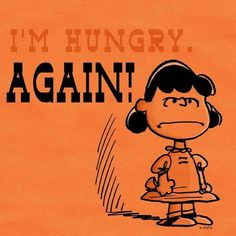 Hungry again....