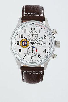Hawker Hurricane Chronograph Date Watch - AVI-8 - Watches : JackThreads
