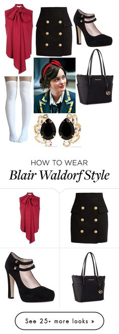 Get The Look: Blair Waldorf | Modern Romance | Pinterest | Outfit ...