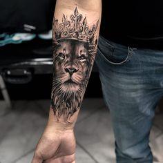 Popular Lion Tattoo Models In 2019 - Tattoos For Men: B.- Popular Lion Tattoo Models In 2019 – Tattoos For Men: Best Men Tattoo Model… Popular Lion Tattoo Models In 2019 – Tattoos For Men: Best Men Tattoo Models - Hand Tattoos, Lion Forearm Tattoos, Lion Head Tattoos, Bull Tattoos, Mens Lion Tattoo, Leo Tattoos, Forarm Tattoos, Best Sleeve Tattoos, Body Art Tattoos