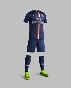 NIKE, Inc. - Nike and Paris Saint-Germain Unveil New Home Kit for Season 2014-15