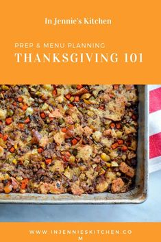 Everything you need to know for prepping pies, sides, and stuffings in advance of the big day, so Thanksgiving Day can be a fun one! Recipes by Jennifer Perillo Best Thanksgiving Recipes, Holiday Recipes, Prep Kitchen, Menu Planning, Dinner Table, Prepping, Fun, Fin Fun, Dining Table