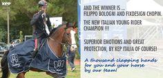 #FilippoBologni #campione #italiano KEP Italia #caschiequitazione #equitazione #sicurezza #cavallo