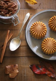 Sprinkle Bakes: Dairy-Free Pumpkin Cakelettes with Coconut Whipped Cream