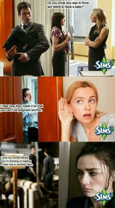 Never discuss the Sims in public