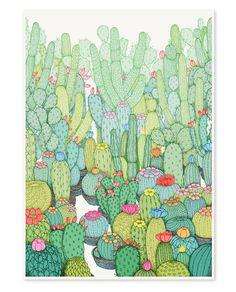 Annie Davidson -- Spring Cacti - A2
