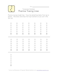 Tracing lines worksheets vertical lines tracing worksheets tracing vertical lines ibookread PDF