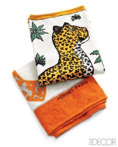 Hermes beach towels
