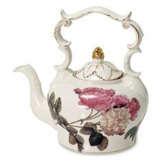 Rose Teapot - 50oz
