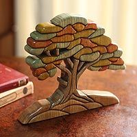 Tree in Autumn from @NOVICA, They help #artisans succeed worldwide.