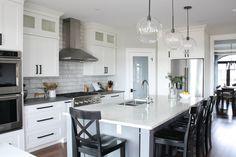 Kitchen Reno, Kitchen Storage, Kitchen Remodel, Kitchen Ideas, Kitchen Interior, Kitchen Design, Building A New Home, Modern Farmhouse Kitchens, Dream House Plans