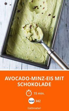 Avocado-Minz-Eis mit Schokolade - smarter - Kalorien: 342 Kcal - Zeit: 15 Min.   eatsmarter.de