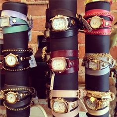 new wrap around watches perfect for fall