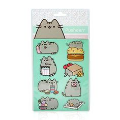Officially Licensed Set of 8 Cute Pusheen The Cat Fridge Magnets Includes 8 different Pusheen designs Made from durable magnetic plastic Brilliant gift for the Pusheen lover in your life Comes complete in Pusheen branded packaging 100% officially licensed merchandise