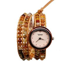 Tequila Double Wrap Watch now featured on Fab.