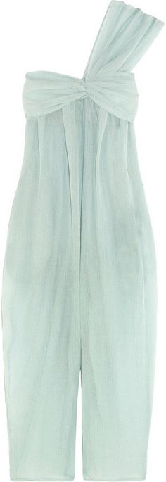 Pin for Later: Heißt den Frühling willkommen mit diesen Kleidern in Pastelltönen  Venice Jumpsuit aus plissiertem Voile in Mintgrün (560 €)