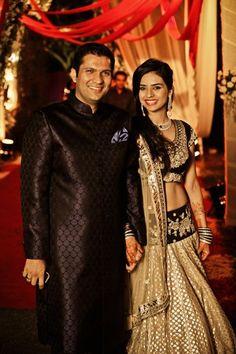 Sabyasachi Mukherjee lehenga. Indian bride