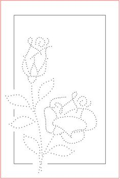The Latest Trend in Embroidery – Embroidery on Paper - Embroidery Patterns String Art Templates, String Art Patterns, Embroidery Cards, Embroidery Patterns, Rose Embroidery, Card Patterns, Stitch Patterns, Doily Patterns, Dress Patterns