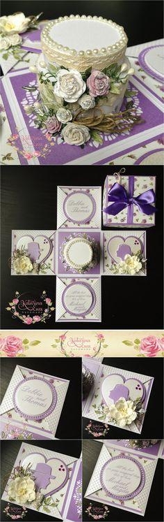 179. Wedding exploding box