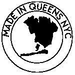 Made in Queens NYC badge. Pop it on your website, remix, and share. Via Behance