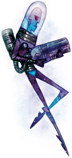 Mr. Freeze // Stylized Batman Art from artist John Doe a.k.a botjira