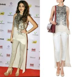 Celeb Style: Get this Look by Rohit Gandhi Rahul Khanna at Pernia's Pop Up Shop - Anushka Sharma dress | #AnushkaSharma