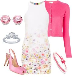 """""""spring has sprung"""" by borntoread ❤ liked on Polyvore"""