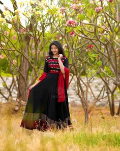 Ready Made Dresses : Volume Black and Red Cool Gown wear Ethnic Outfits, Ethnic Dress, Indian Outfits, Fashion Outfits, Indian Wedding Fashion, Indian Fashion, Punjabi Wedding, Indian Bridal, Indian Designer Outfits