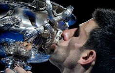 Novak Djokovic, 2012 Australian Open champion.