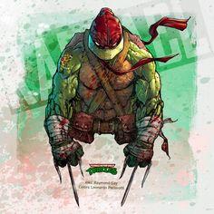 Teenage Mutant Ninja Turtles: Raphael by le0arts.deviantart.com on @DeviantArt