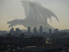 Huge Dragon , Yoshinobu Saito on ArtStation at http://www.artstation.com/artwork/huge-dragon