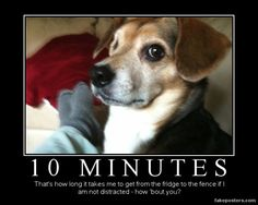10 Minutes - Demotivational Poster