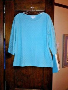 01b58520f0e2 Details about BRECKENRIDGE LADIES TOP SIZE MEDIUM REGULAR NEW WITHOUT TAGS