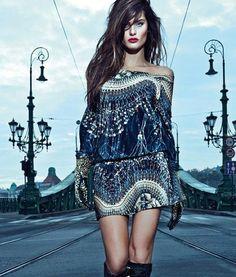 Isabeli Fontana for Morena Rosa Winter Ad Campaign 2013 (3)