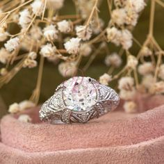 Read the full title Old European Cut CZ & Moissanite Engagement Proposal Ring- Art Deco Edwardian Ring- Filigree Style Unique Ring - Handmade Ring For Girl Edwardian Ring, Edwardian Fashion, Proposal Ring, Rings For Girls, Moissanite, Unique Rings, Diamond Earrings, Engagement, Handmade