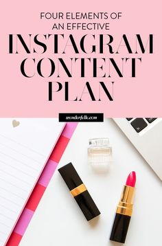 Elements of an effective Instagram content plan - read this if you're not sure what to post on Instagram. Tips for creating effective Instagram content for your audience and maintaining a consistent brand. Plus join the Irresistible Insta-Challenge for a 14 days of Instagram tips.