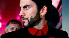 Seneca Crane. I am SO into facial hair - and this is the sexiest beard I have ever seen. Let the Hunger Games begin, you sexy, sexy man.